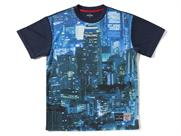 SPALDING Tシャツ-CITY LIGHTS