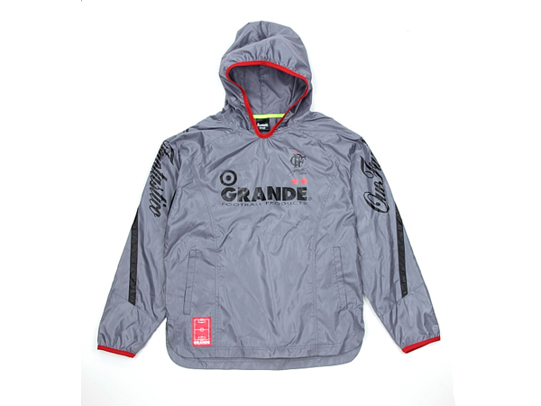 GRANDE L.SHELL PULLOVER HOODED