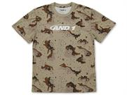 AND1 CAMO GRAPHIC TEE